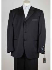 ID#SM957 Dark color black Man Made Fiber Three buttons  Notch Collared Lightweight Material Summer Polyester Suits Men