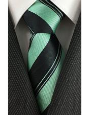 With Mint Skinny Necktie