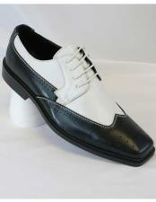 Wingtip Two Toned Lace