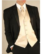 Wool Tuxedo Suit With
