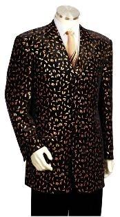 length Zoot Suit Dark