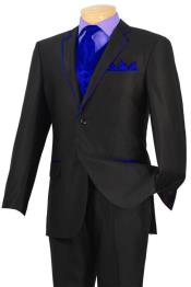 Dark color blue tuxedo