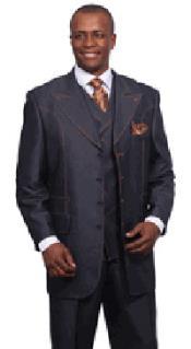 Denim Style Wool fabric
