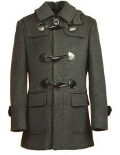 Fit Charcoal Coat For