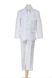 Kids Boys Pinstripe Suit