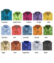 ID#PNK68 Children Kids Boys Dress Cheap Fashion Clearance Shirt Sale Online For Men Combo Shiny Satin Tie Handkerchief