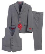 3 Piece Formal Gray