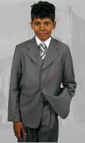 Gray Boys Dress Suit
