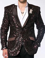Dinner Jacket Tuxedo Sequin