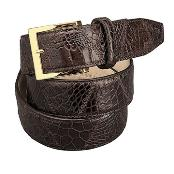 Patchwork Gator skin Belt