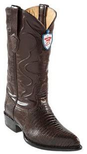 ID#SE6739 Wild West Coco Chocolate brown Teju Lizard skin J -Toe Western Dress Cowboy Boot Cheap Priced For Sale Online