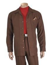Sleeve Brown 6 Button