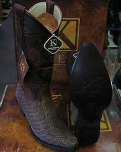 Snip Toe Genuine Shark western Coco Chocolate brown Dress Cowboy King Exotic Boots Cheap Priced For Sale Online