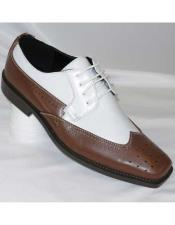 Wingtip Two Toned Brown