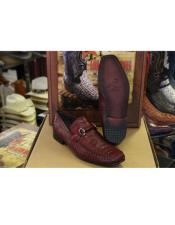Burgundy Prom Loafer and