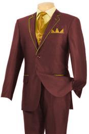 & Gold Tuxedo Suit