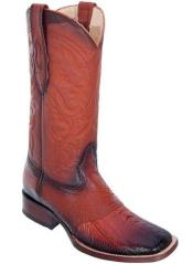 Altos Burnished Cognac Wide