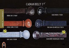 Exotic Belt 15 Caiman