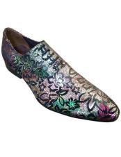 Toe Lace-Up Floral ~