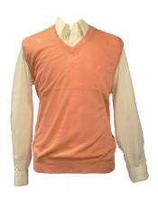 Wear Peach Groomsmen Vest