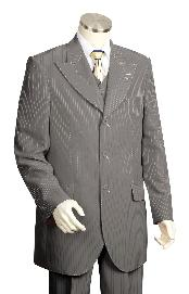 Piece Vested Charcoal Masculine