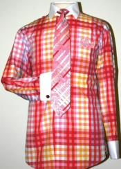 Pattern Dress Fashion Shirt/