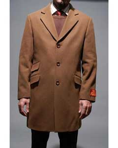 Wool fabric Overcoat and