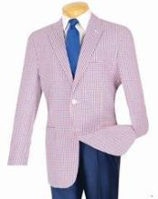 Fit Sportcoat Christmas Red