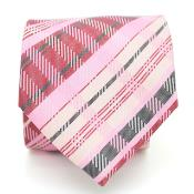 Slim Pink Glen Neck