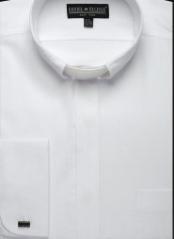 Mandarin Banded Collar Shirt