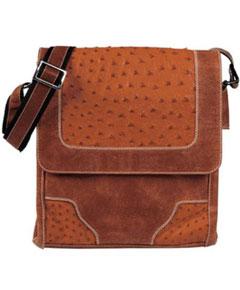 Ostrich Cross Body Bag