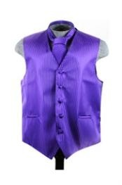 Groomsmen Ties Combo Purple