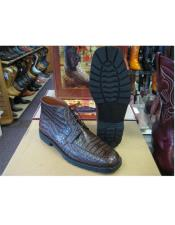 All Crocodile Caiman Brown