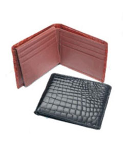skin Billfold Dark color