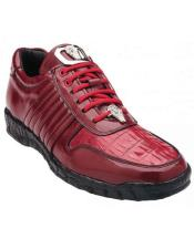 Astor Genuine Red Crocodile