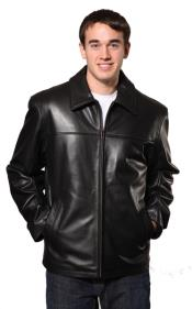 Leather skin Jacket Dark