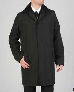 Microfiber Raincoat Dress Coat