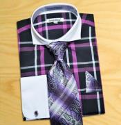 color black / Purple