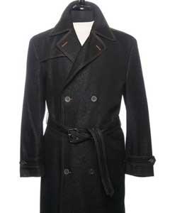 Trench OverCoat In Dark