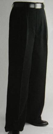 color black Wide Leg