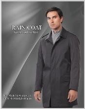 ID#Style Raincoat - Dress Coat Cheap Priced Available In Big & Tall Sizes Trench Coat Dark color black Overcoat