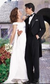 color black Tailcoat Tuxedo