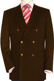 ID#DBN232 High crafted professionally Dark Coco Chocolate brown Mens Double Breasted Suits Jacket Blazer Cheap Priced Unique Fancy  Big Sizes Sport Coat Sale