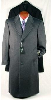 Mens Long Overcoat
