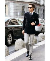 ID#NM1275 Mens Double Breast Best Cheap Blazer For Affordable Cheap Priced Unique Fancy For Men Available Big Sizes on sale Men Black Velvet Stylish Casual Tailored Jackets Affordable Sport Coats Sale