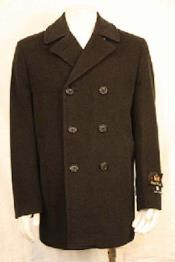 Breasted PeaCoat Dark color