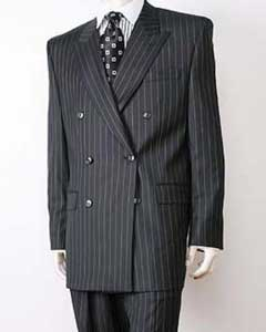 Black/PS Stripe Pinstripe Double