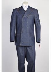 Blue Fashion Denim Cotton