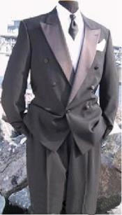 Breasted Tuxedo Suit(Jacket &