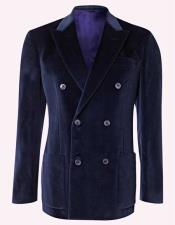 Double Breasted Mens Blazer